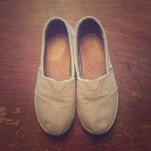 Youth Toms Sparkle Flats